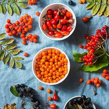 Säurearmer Früchtetee