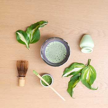 Bild unserer Matcha-Teesorten